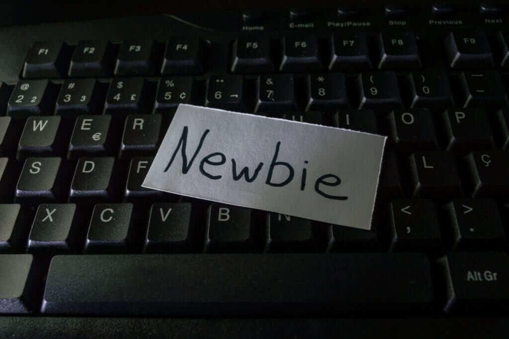 Newbie marketer